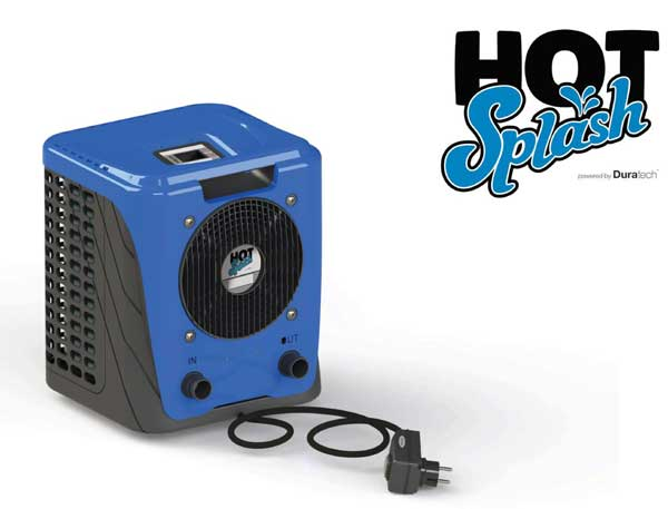 Hot Splash 3.35kw Plug and Play Pool Heat Pump for Above Ground Pools up to 10m3