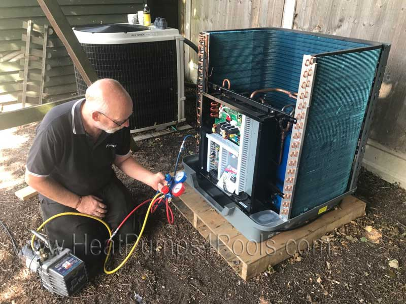 Pool heat pump repairs and servicing