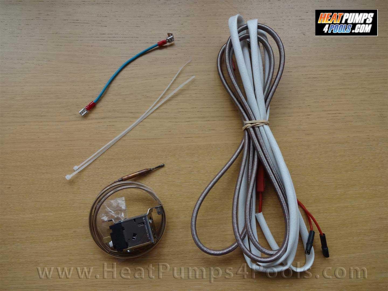 heat pump drip tray heater kit