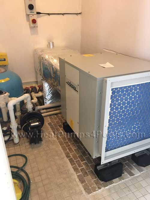 Calorex AA500 / AA300 after installation