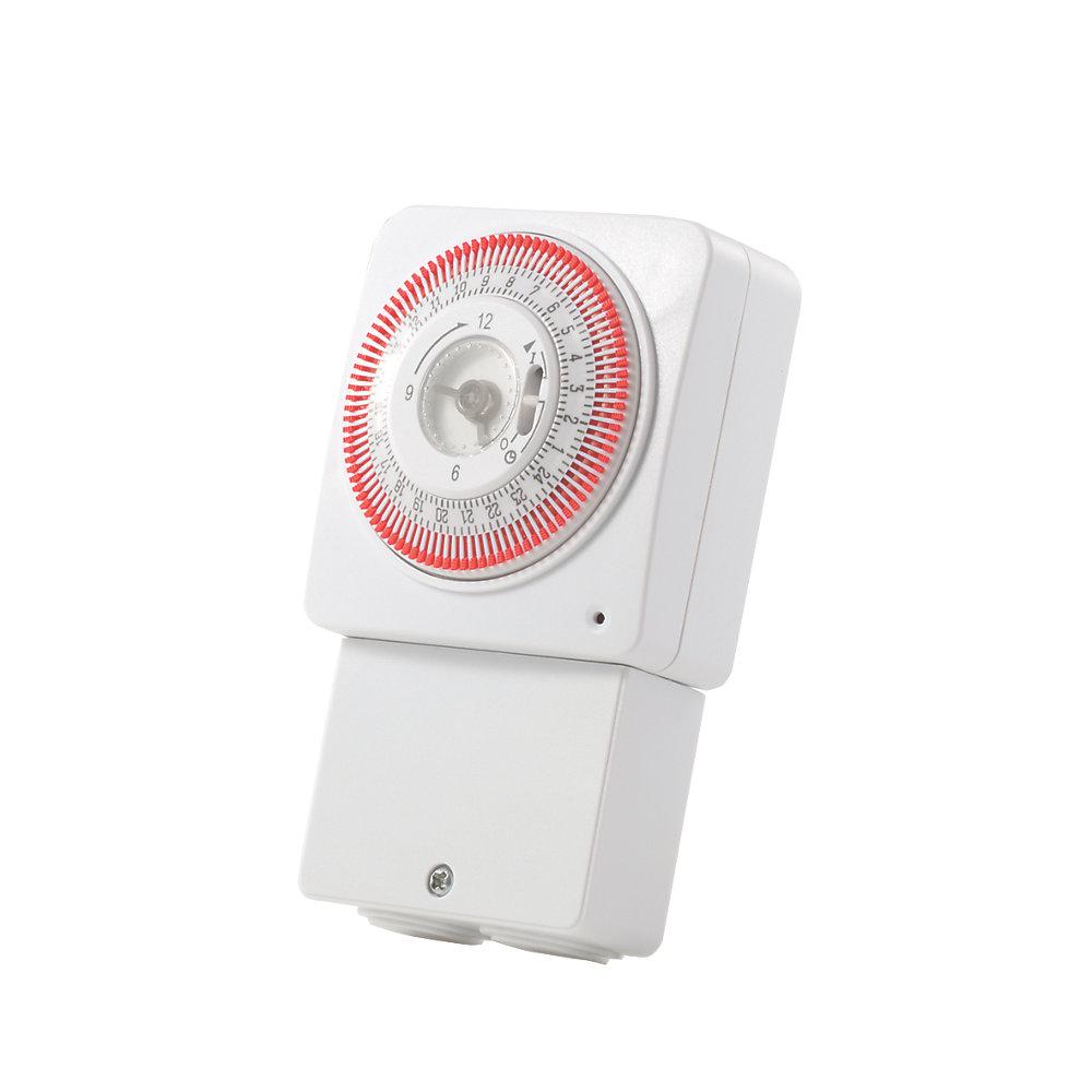 heat pump time clock switch