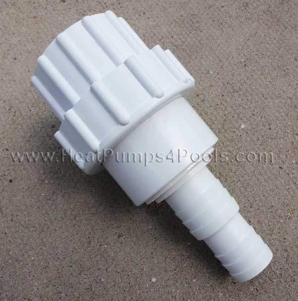 Large Bestway Intex Hose Adaptor 32mm 38mm 1.25