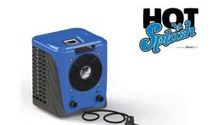 hot splash pool heat pump